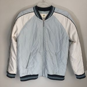 Tucker & Tate Quilted Bomber Jacket XL 14/16